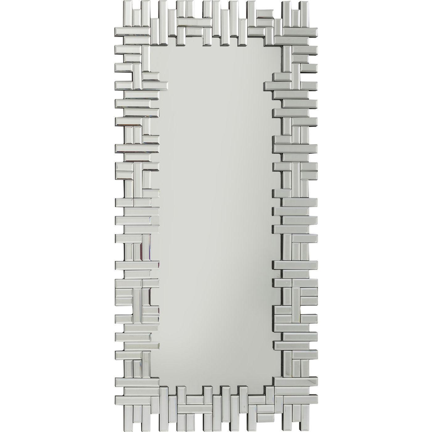 Billede af Kare Design Spejl, Puzzle Rectangular 120x58cm