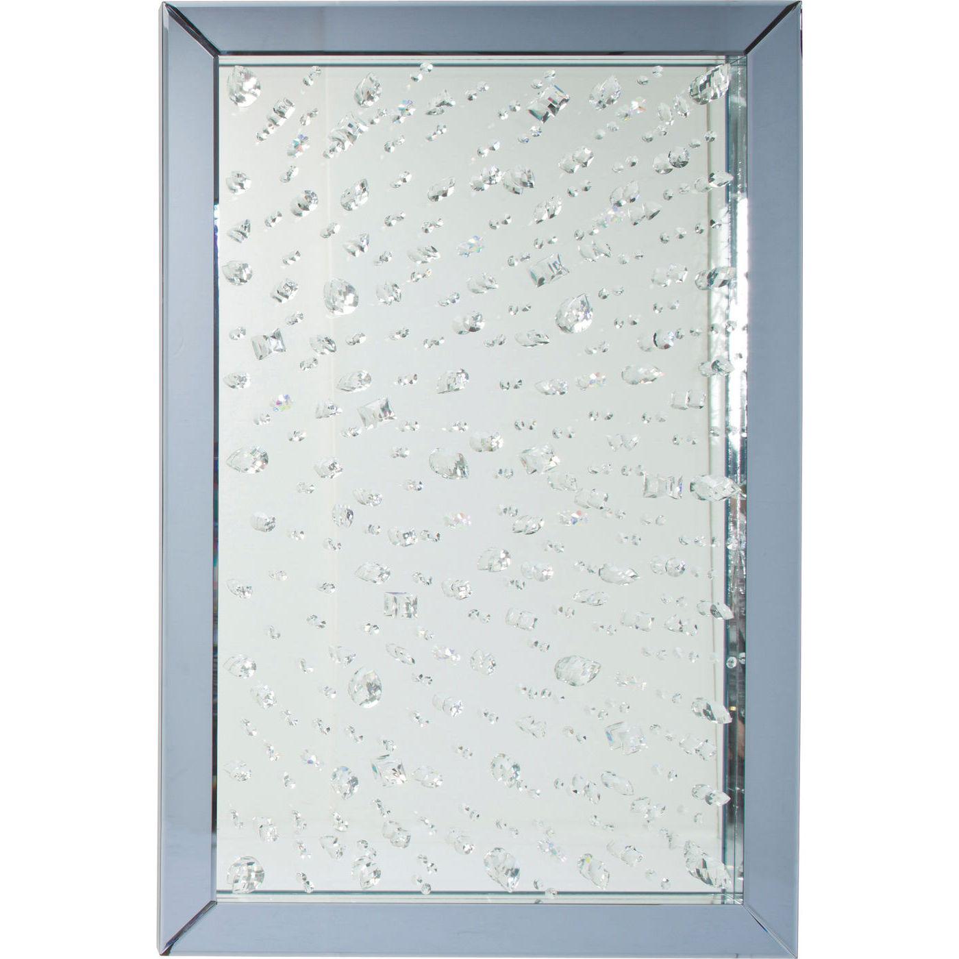 Billede af Kare Design Spejl, Raindrops 120x80cm