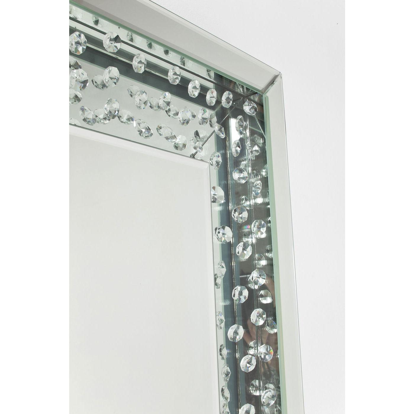 spejl med ramme Spejl, m. Ramme Raindrops 120x80cm. Anderledes ramme spejl med ramme