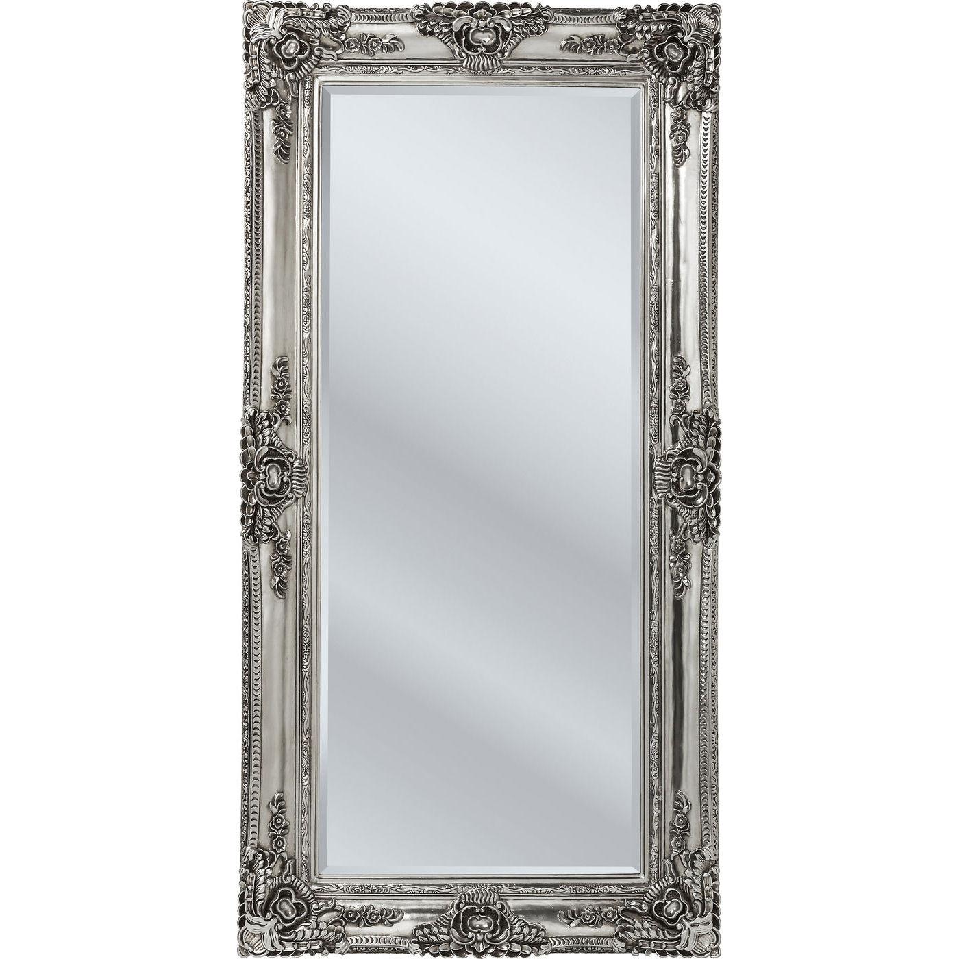 Spejl royal residence 203x104cm med udskringer i rammen for Miroir online shop