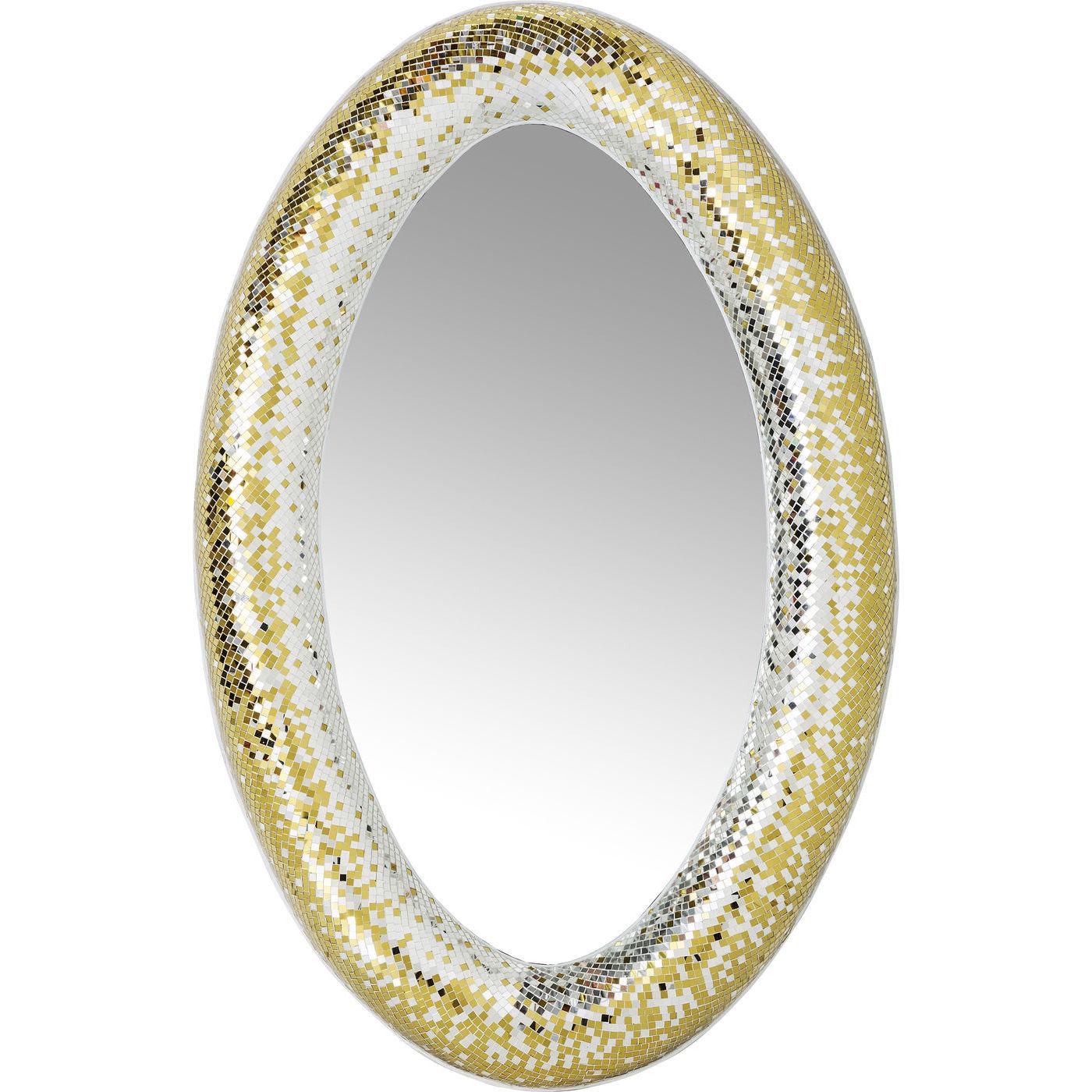 Billede af Kare Design Spejl, Mosaik Glamour 170x110cm