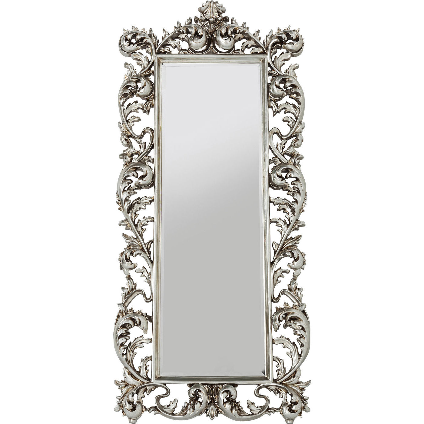 Image of   Kare Design Spejl, Sun King Rectangular Silver