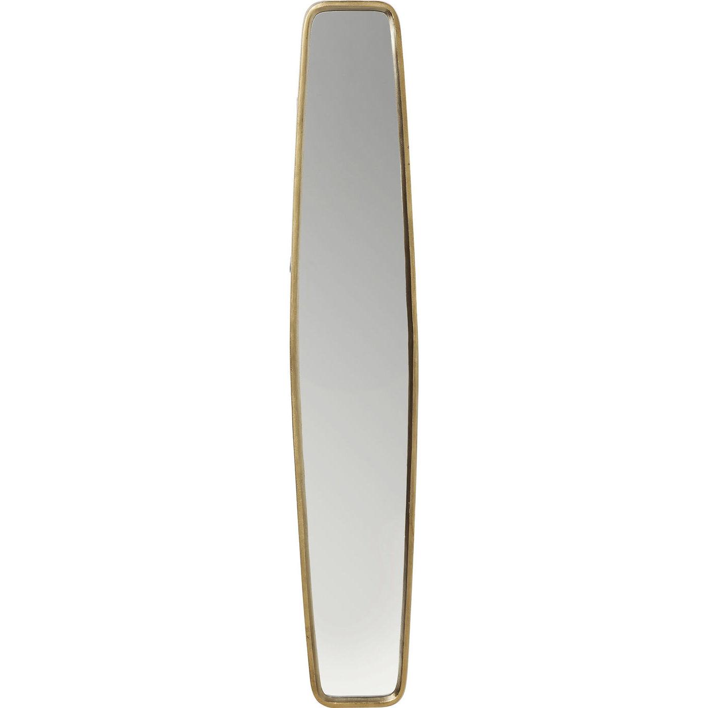 Image of   KARE DESIGN Spejl, Clip Brass 177x32cm