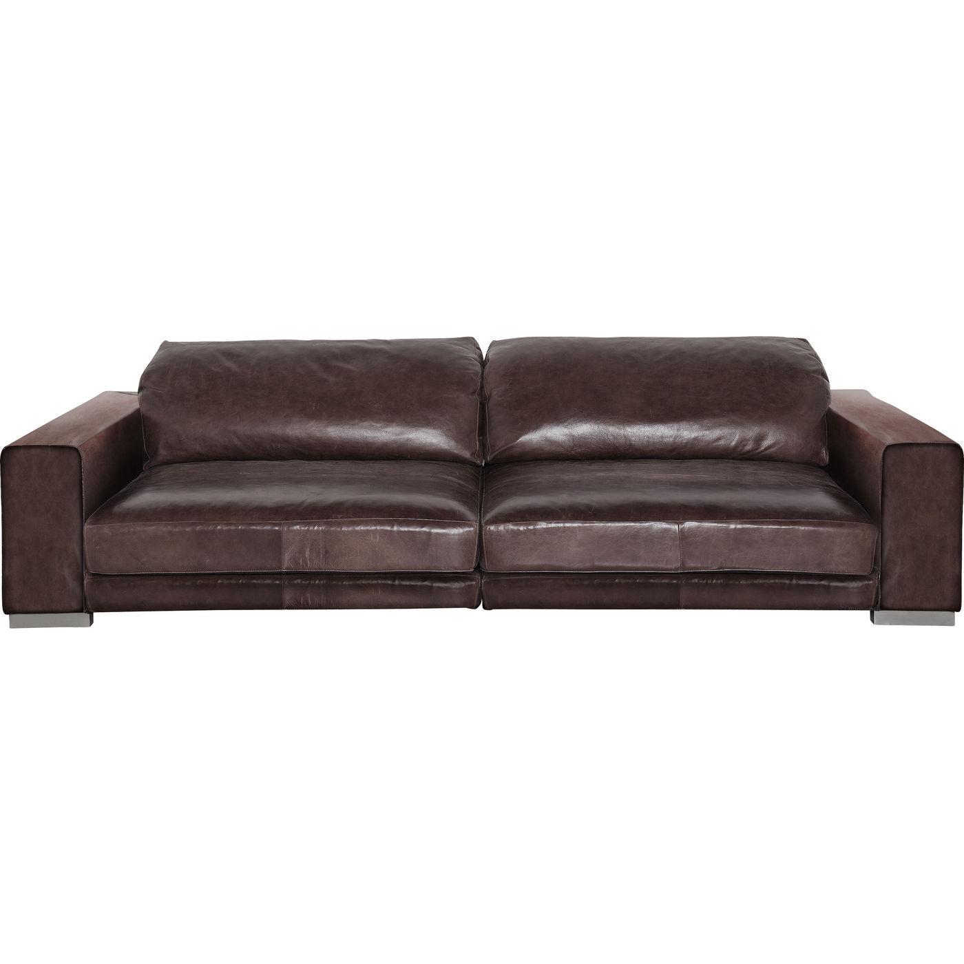 studio divani sofa i flot brun farve enorm stor og elegant. Black Bedroom Furniture Sets. Home Design Ideas