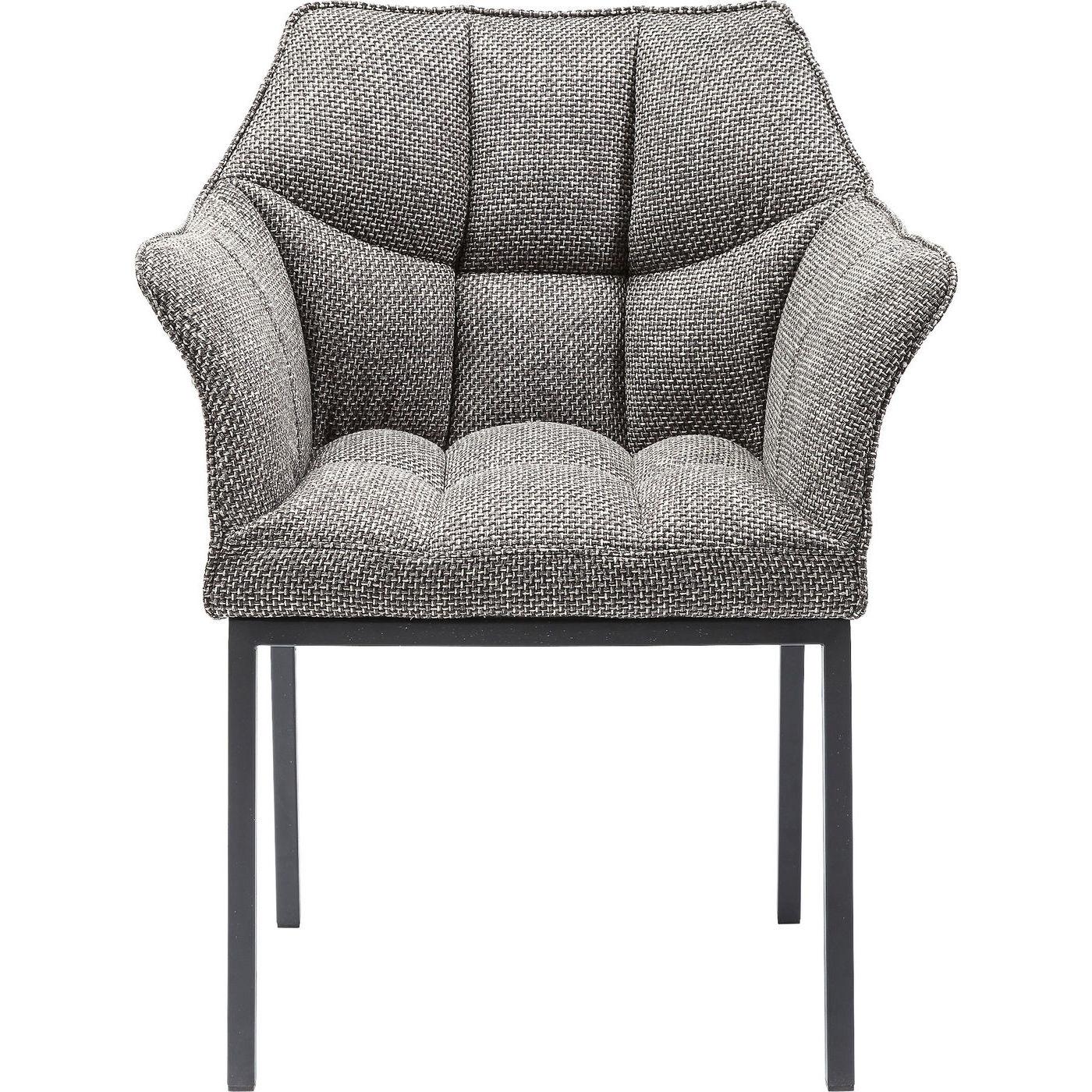 Image of   Kare Design Spisebordsstol m. armlæn, Thinktank