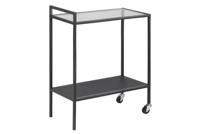 Seaford rullebord - stål med glasplade
