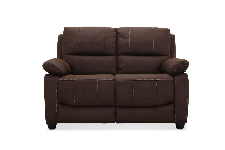 Texas brun 2 pers. sofa fra haga gruppen fra boboonline.dk