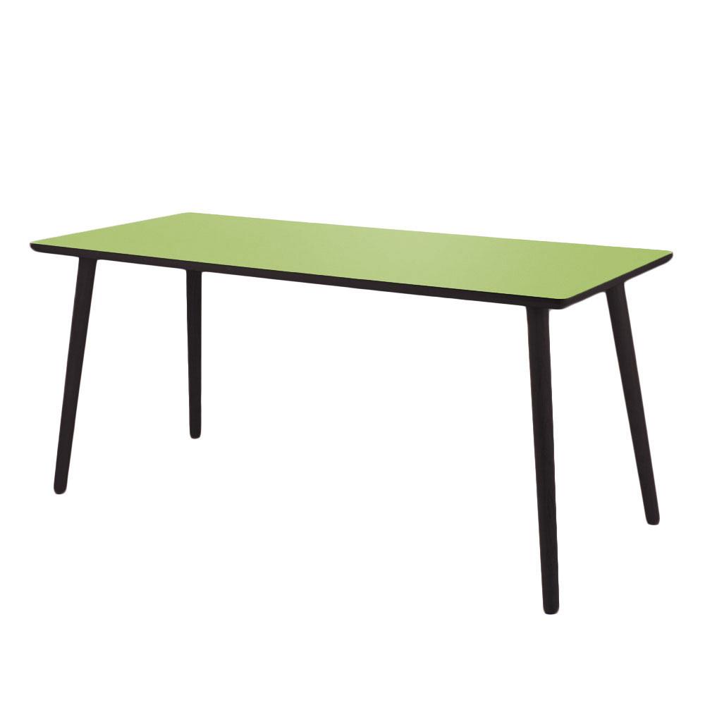 Billede af leaf green Skrivebord - højtrykslaminat