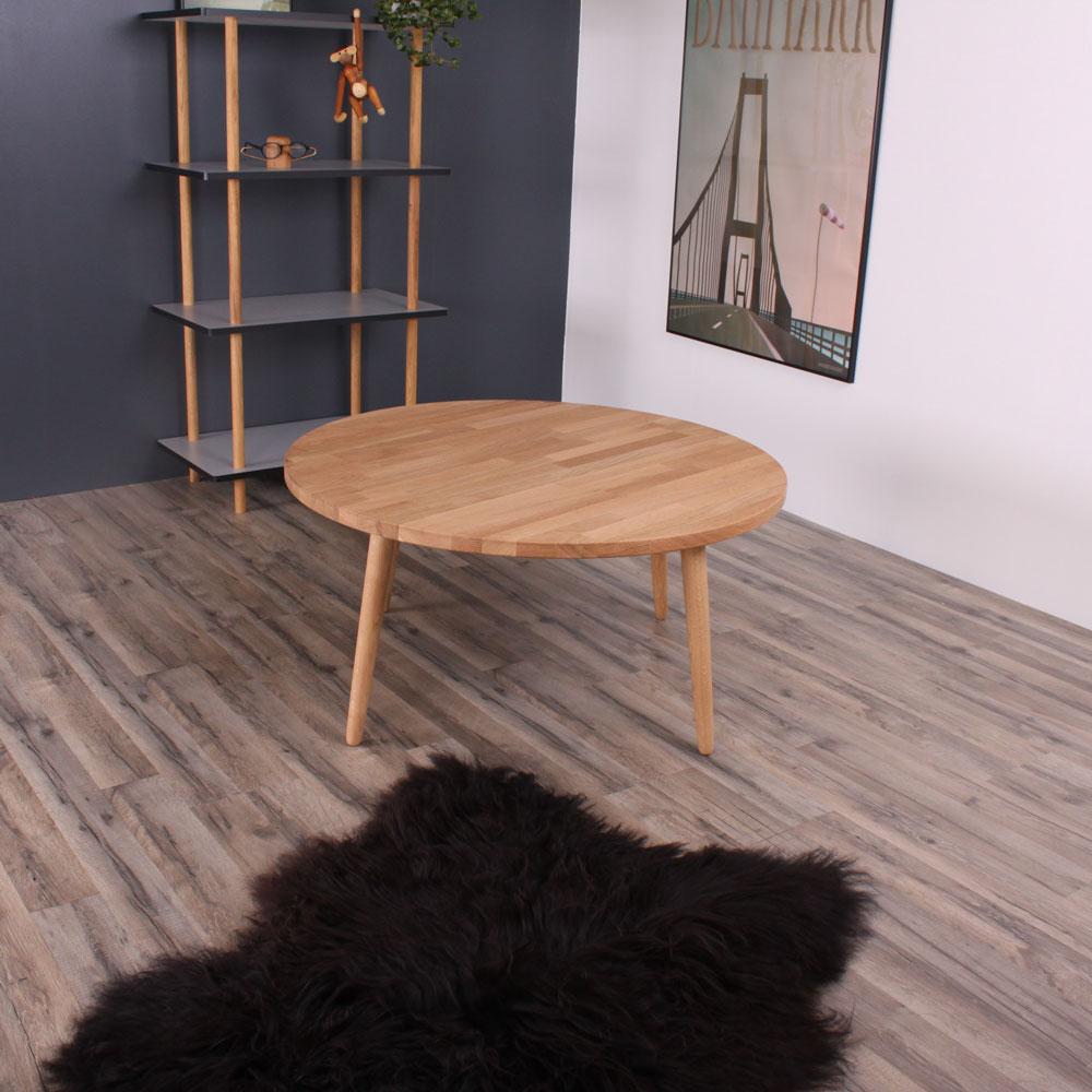 metz rundt sofabord 100 cm fra by tika til stuen. Black Bedroom Furniture Sets. Home Design Ideas