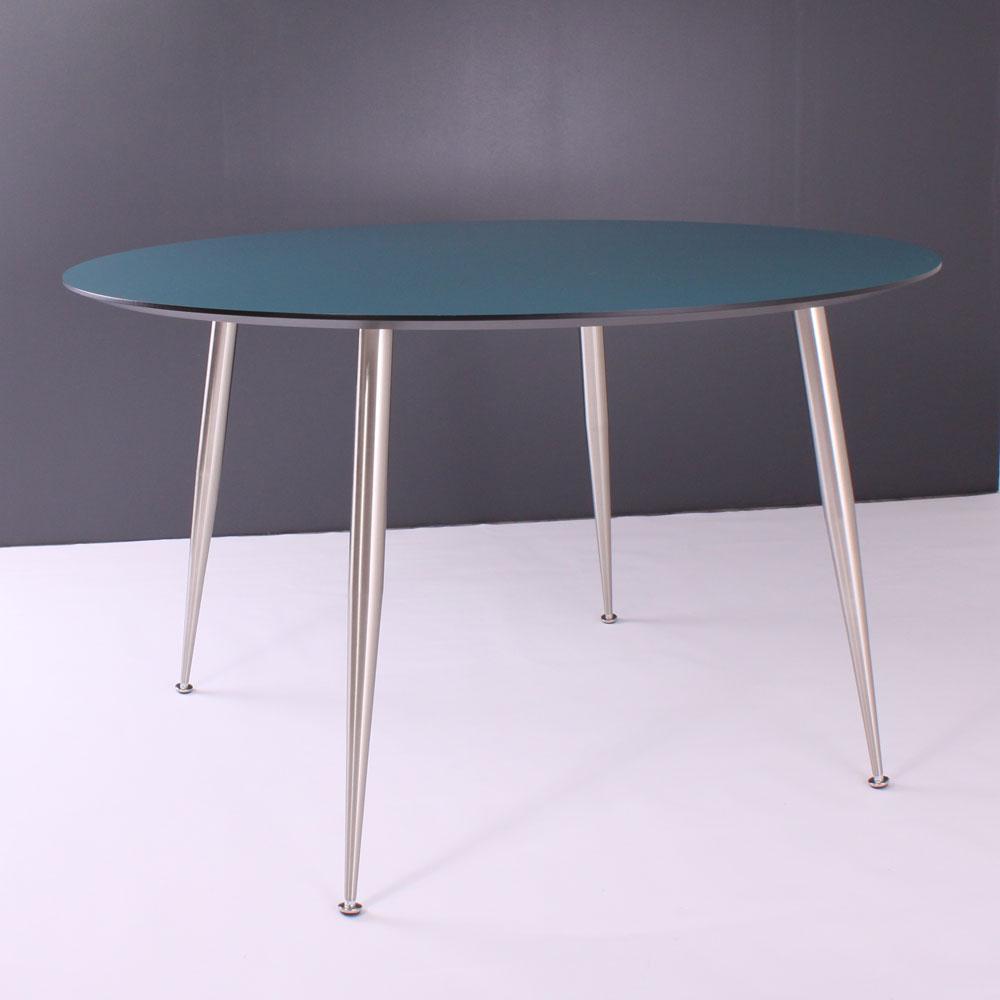 BY TIKA Lund rundt spisebord – blå, rund, (73x120x120cm)