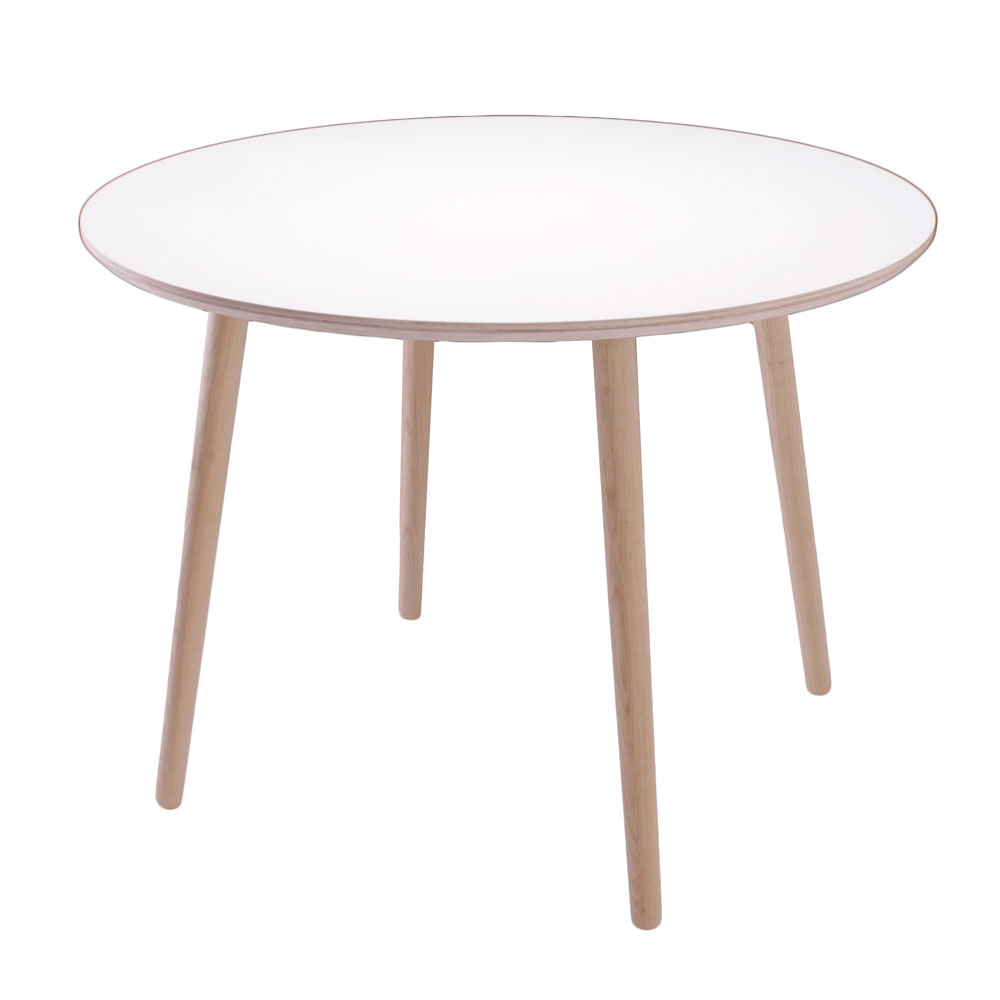 Image of   BY TIKA Karlstad Rundt spisebord med egeben