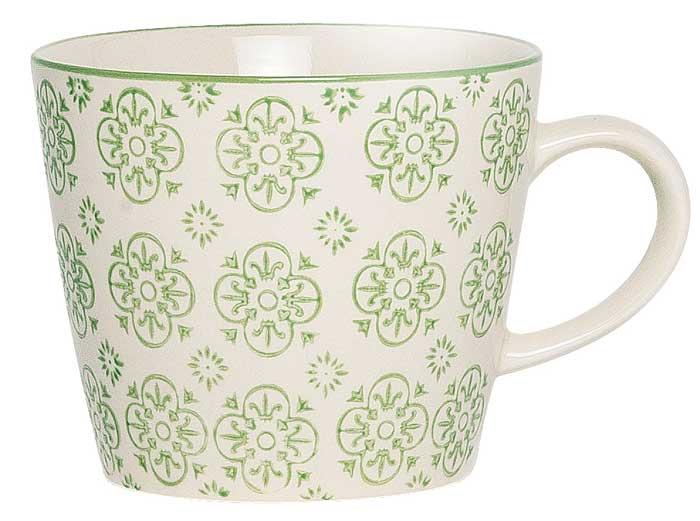 ib laursen Ib laursen krus casablanca - grøn/hvid stentøj på boboonline.dk