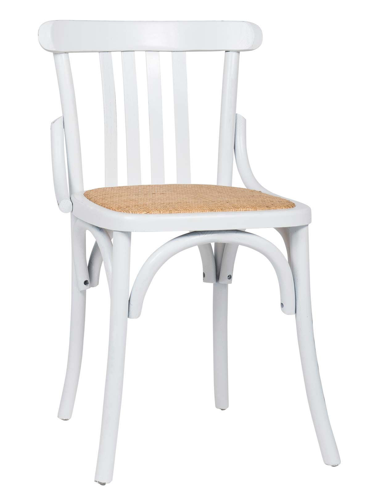 ib laursen Ib laursen stol marais - hvid træ, uden armlæn fra boboonline.dk