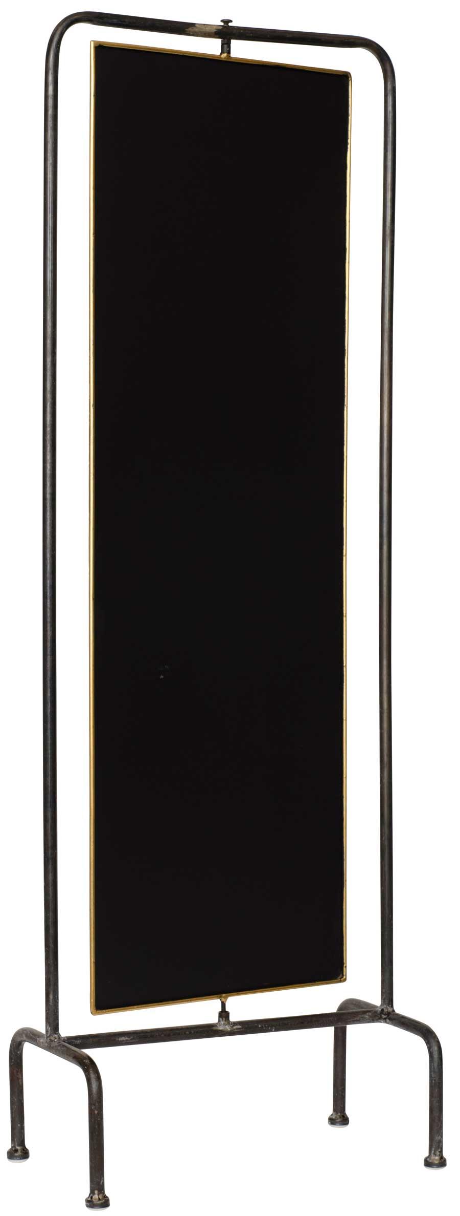 ib laursen – Ib laursen tavle - sort metal, stående metalramme, (104x21cm) på boboonline.dk