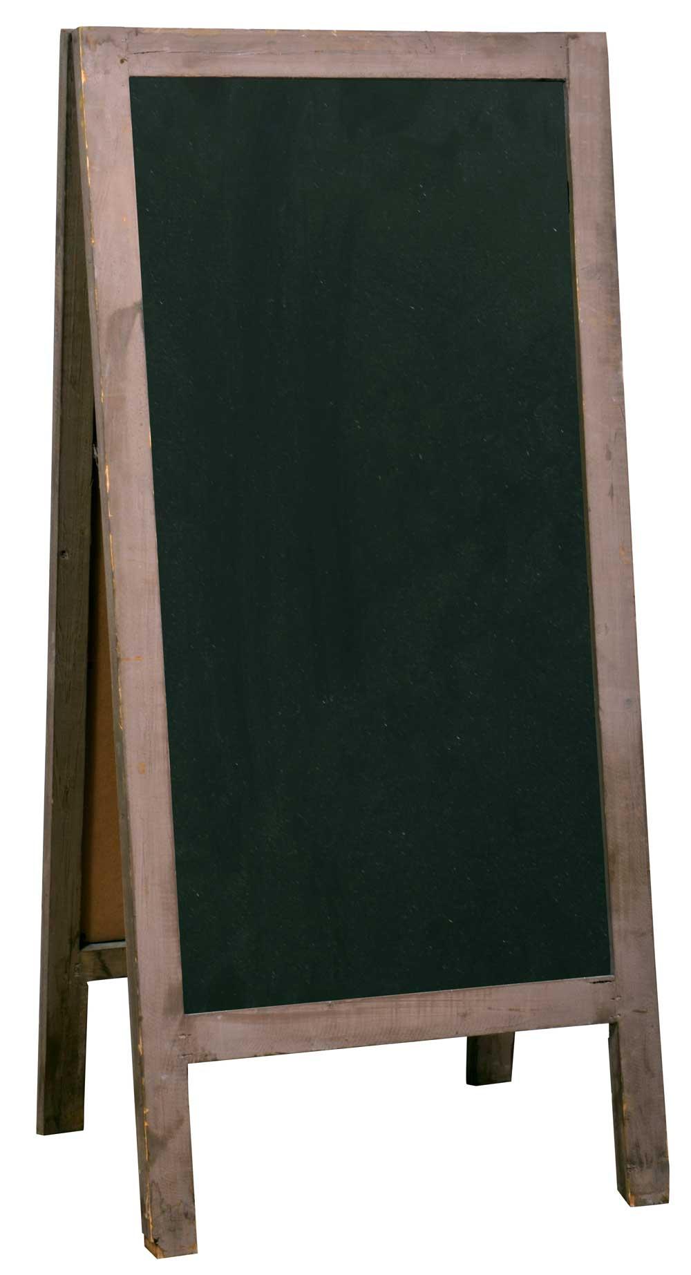 Billede af IB LAURSEN A-skilt med tavle på begge sider