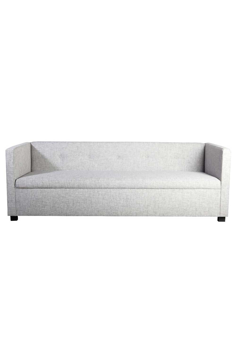 House doctor botton sofa - hvid polyester, 3 pers. sofa, (80x220 cm)