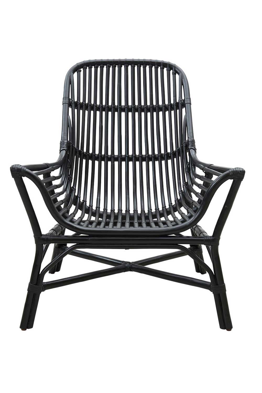 Image of   HOUSE DOCTOR Colony loungestol - sort rattan