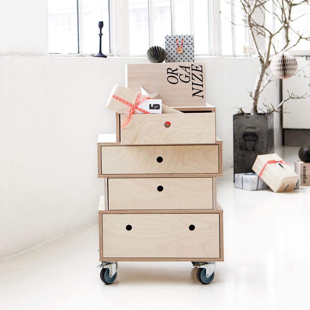 house doctor mix kommode 4 forskellige strrelser skuffer. Black Bedroom Furniture Sets. Home Design Ideas