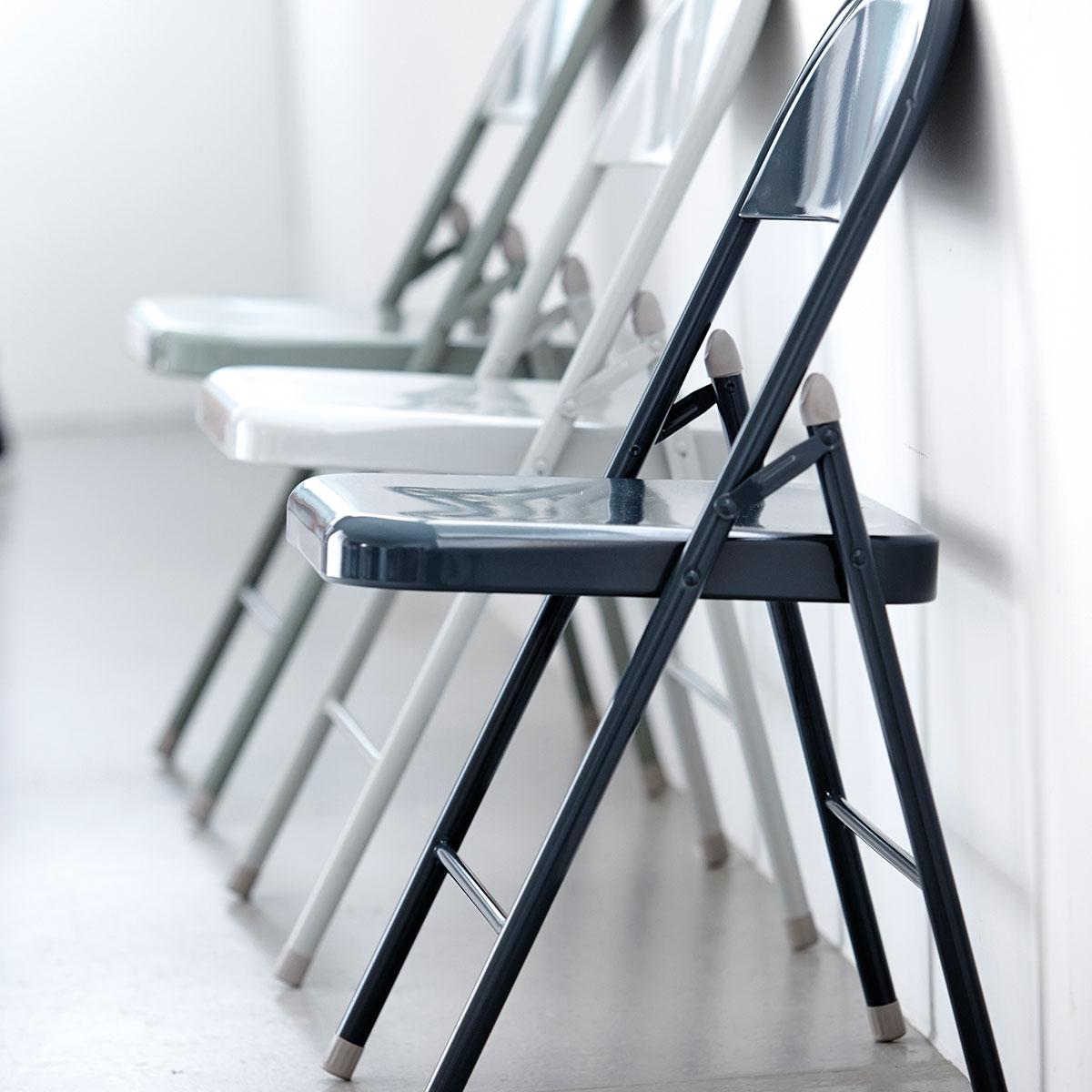 house doctor House doctor fold it klapstol, lysegrå metal fra boboonline.dk