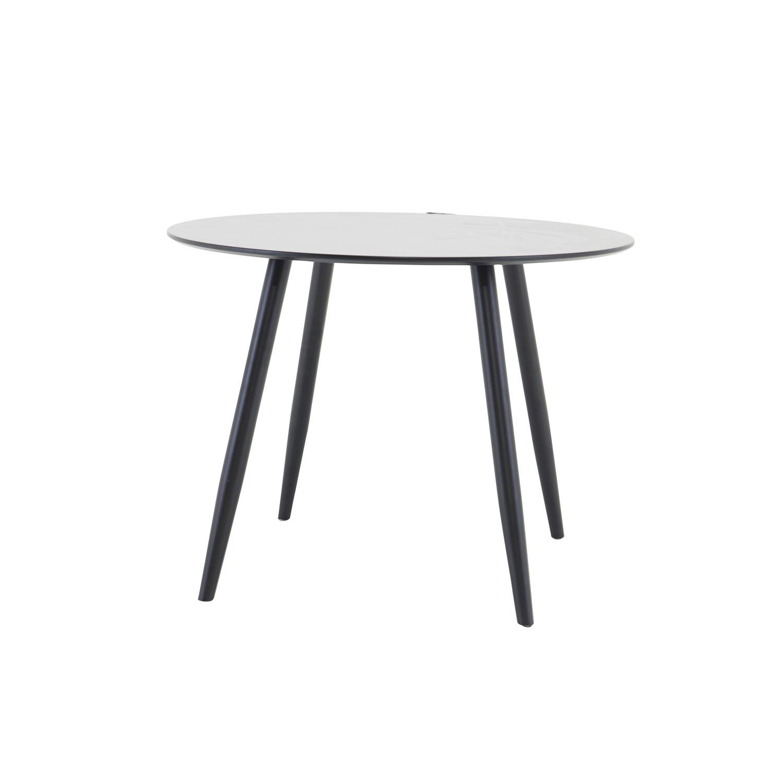 venture design Venture design plaza spisebord - sort mdf og metal (ø100) på boboonline.dk