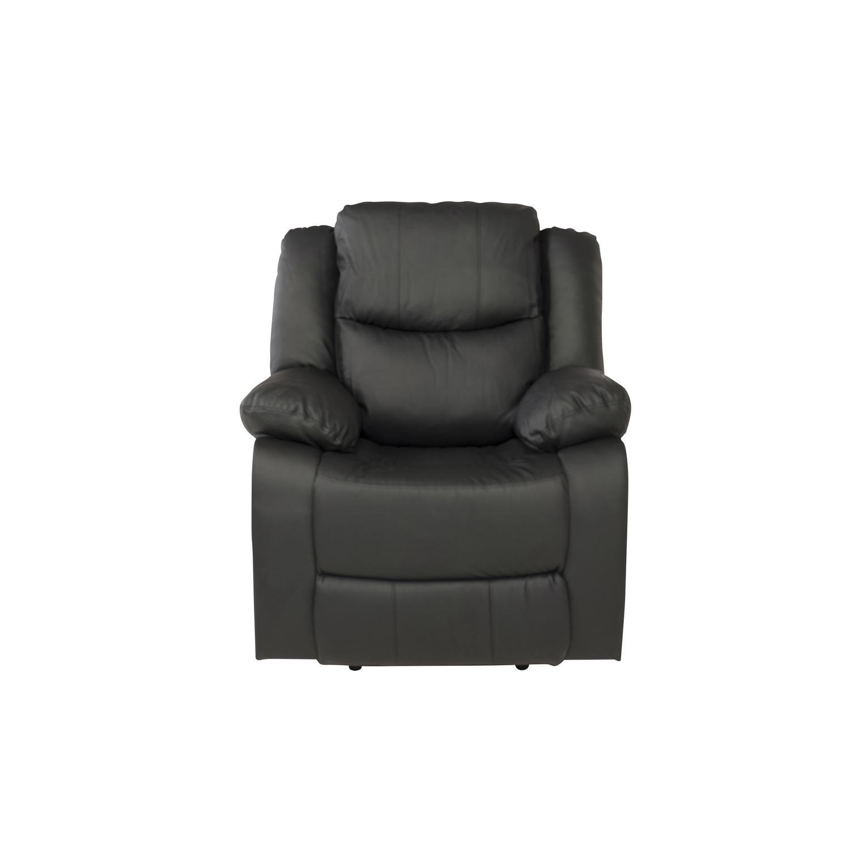 venture design – Venture design alba recliner lænestol, m. armlæn - sort polyester og plastik fra boboonline.dk