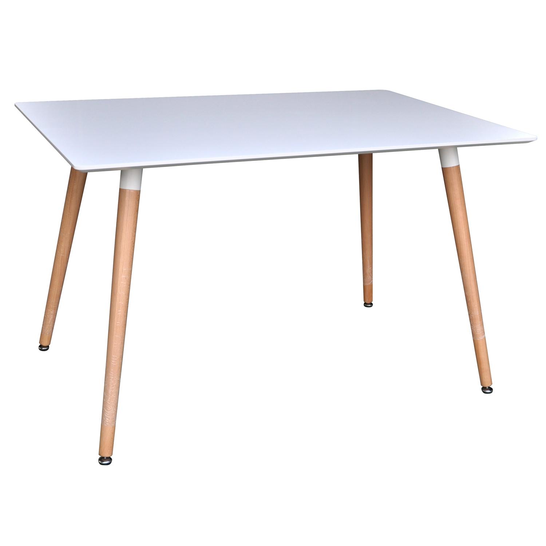 venture design Venture design smell spisebord - hvid og natur mdf (120x90) fra boboonline.dk