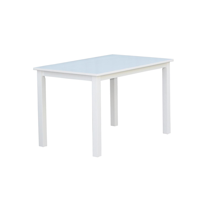 venture design Venture design backagård spisebord, m. udtræk - hvid gummitræ (120x75) fra boboonline.dk
