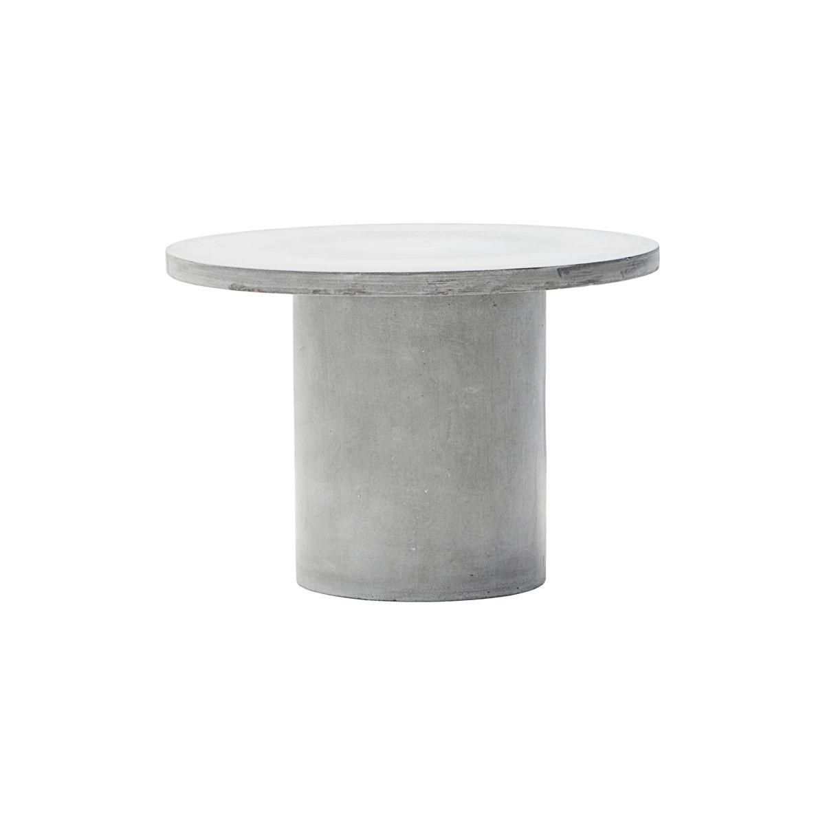 house doctor – House doctor gallery sofabord - grå cement (ø 65) fra boboonline.dk