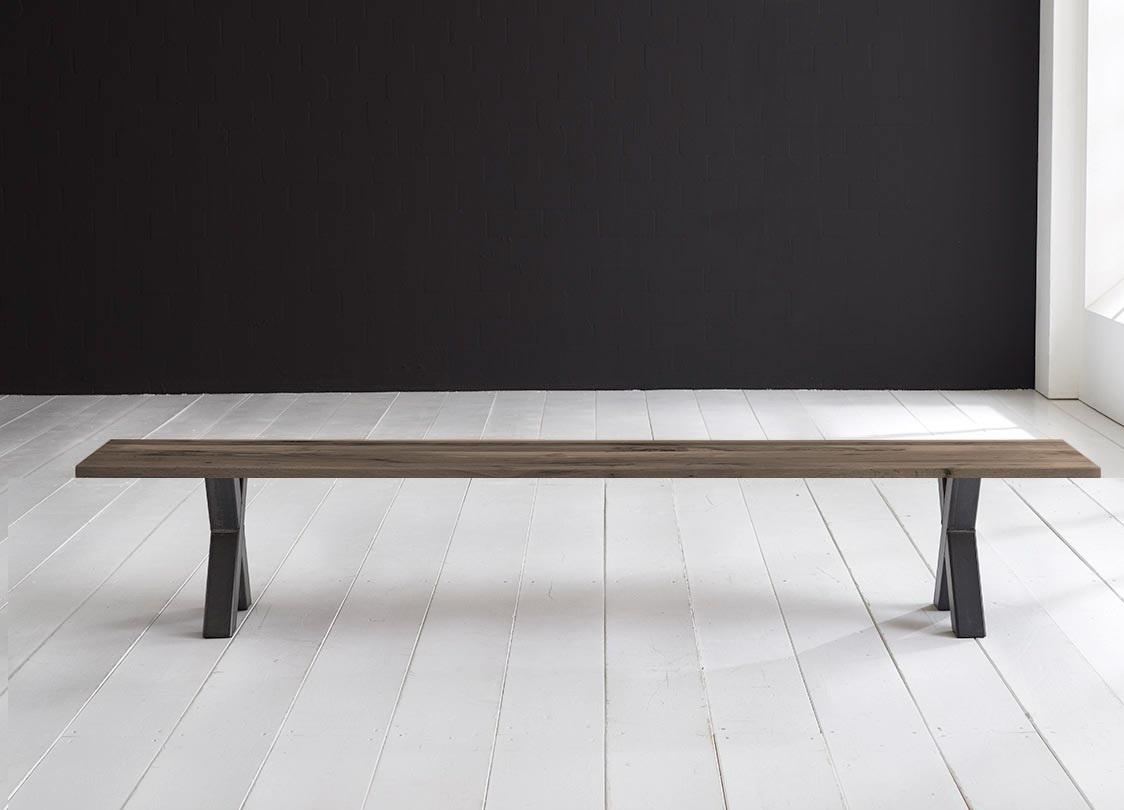 bodahl – Concept 4 you spisebordsbænk - freja ben 220 x 40 cm 3 cm 02 = smoked på boboonline.dk