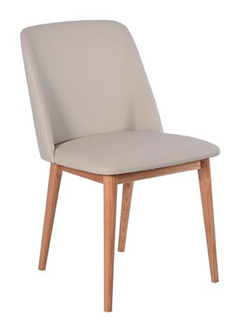 rge – Rge perstorp spisebordsstol - naturfarvet kunstlæder, uden armlæn på boboonline.dk
