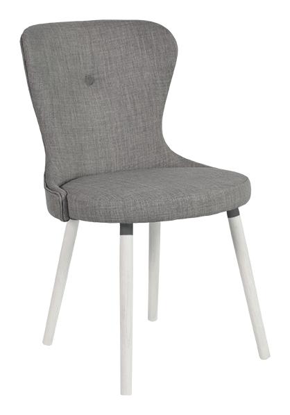 rge – Rge betty spisebordsstol - grå stof, uden armlæn fra boboonline.dk