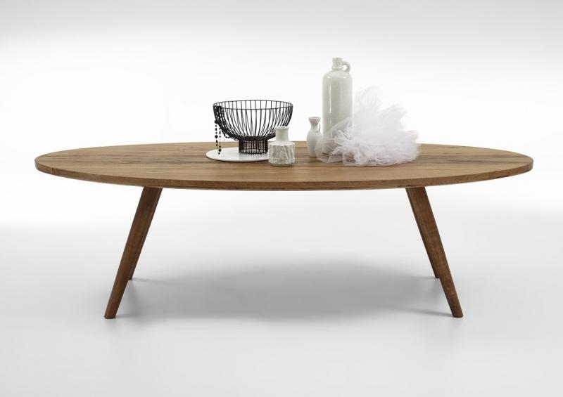 BODAHL Elipse plankebord - Olieret eg 240 x 115 cm 01 = olie