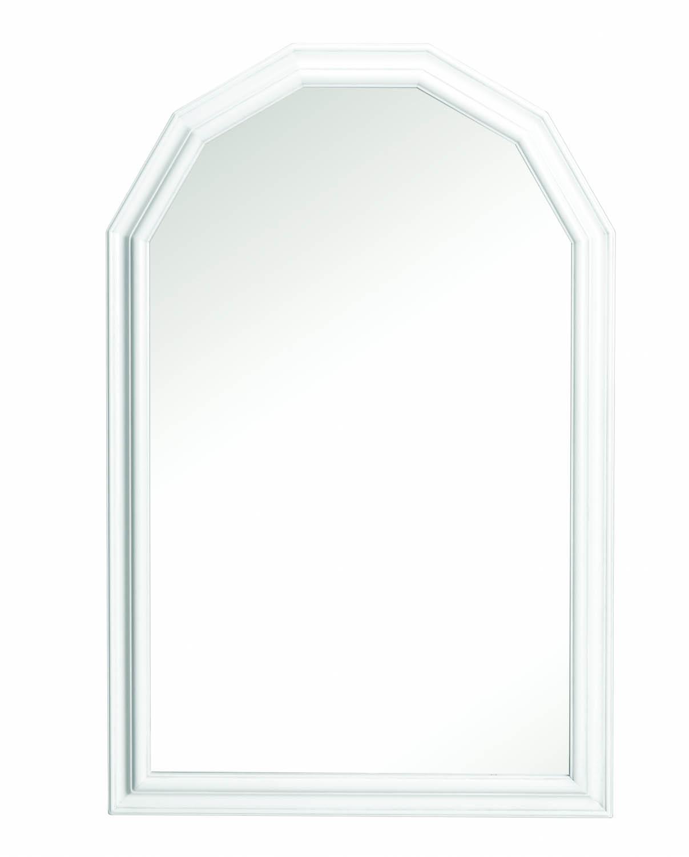 Minette vægspejl - hvid (87x57)