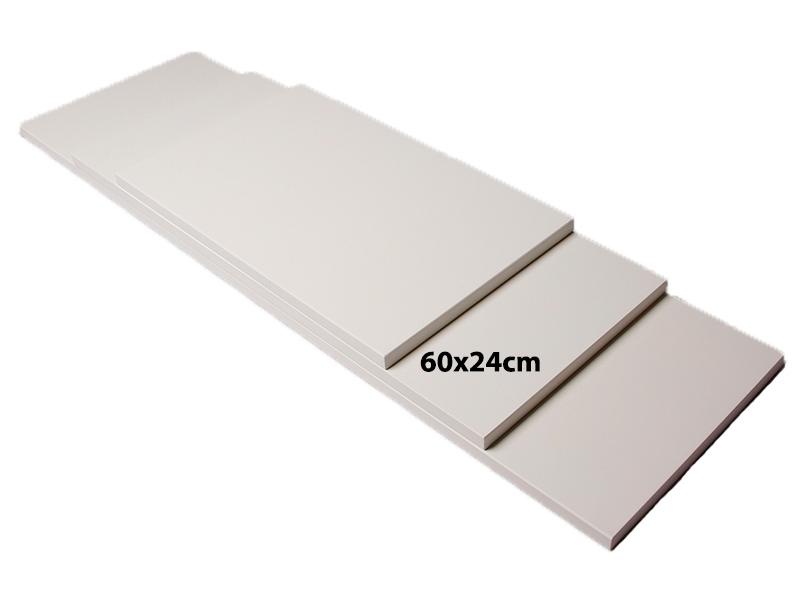 Billede af Shelf hylde, MDF, hvid, 60cm