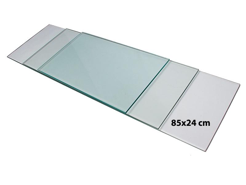 Billede af Shelf hylde, Klar Glas, 85cm