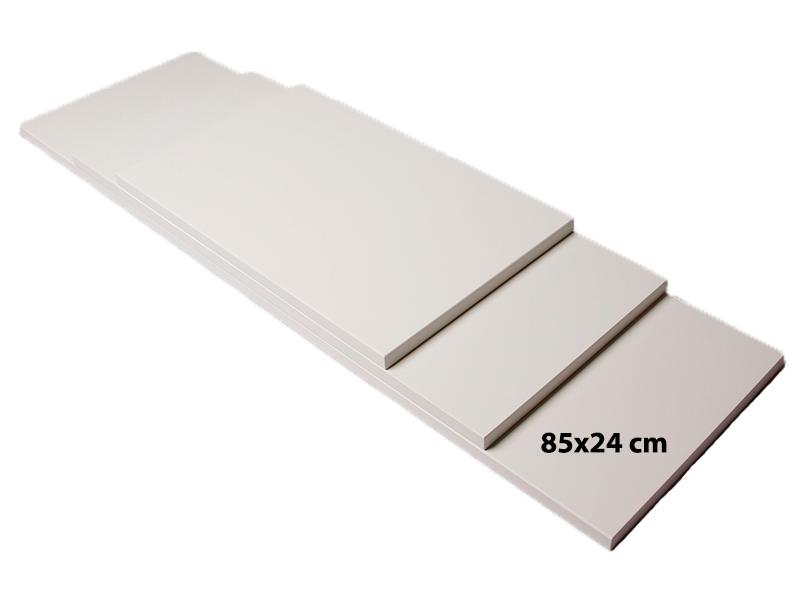 Billede af Shelf hylde, MDF, hvid, 85cm