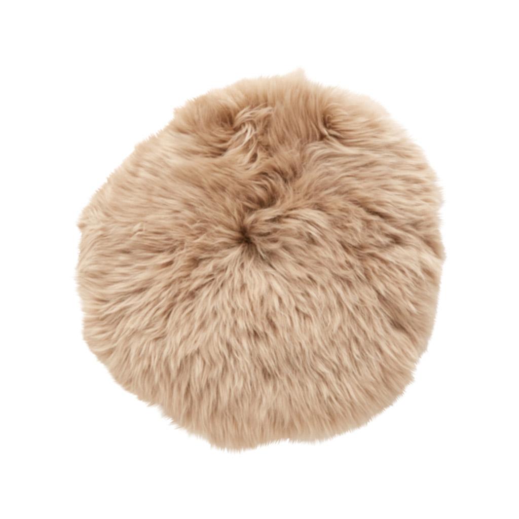 Billede af Hübsch Lysebrun stolehynde, korthåret