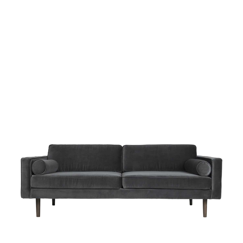 BROSTE COPENHAGEN Wind sofa - polyester velour