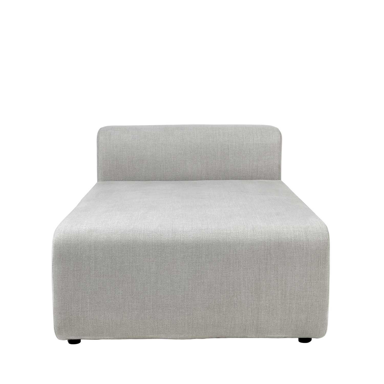 BROSTE COPENHAGEN Lake sofamodul chaiselong - polyester, rektangulær (170x90)