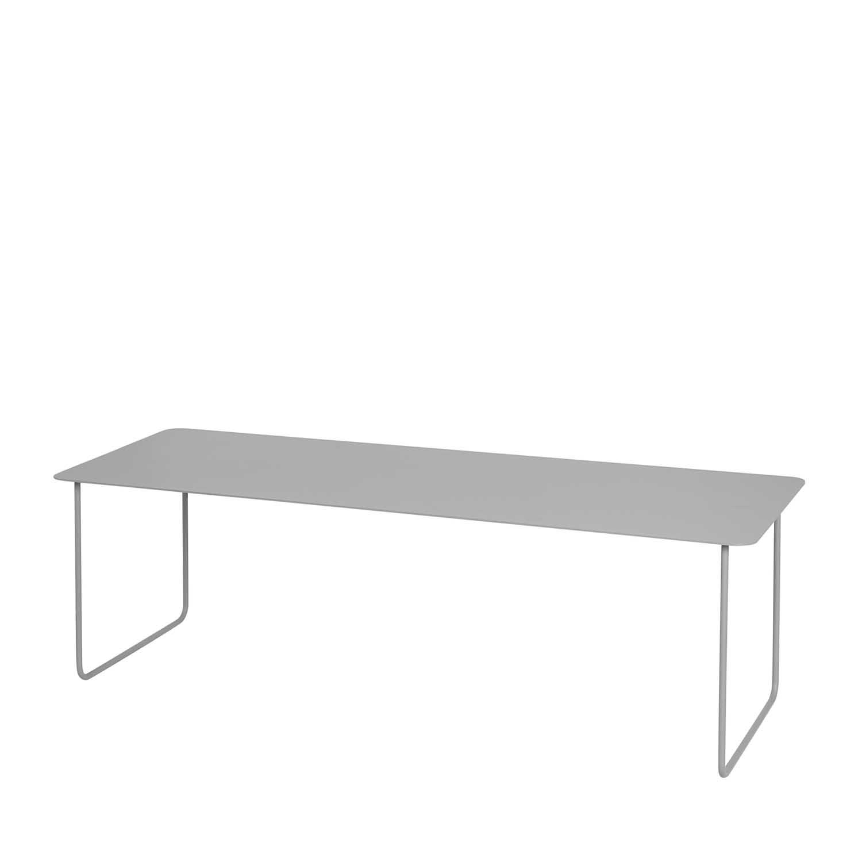 BROSTE COPENHAGEN Lilly sofabord - stål, rektangulær (110x40)