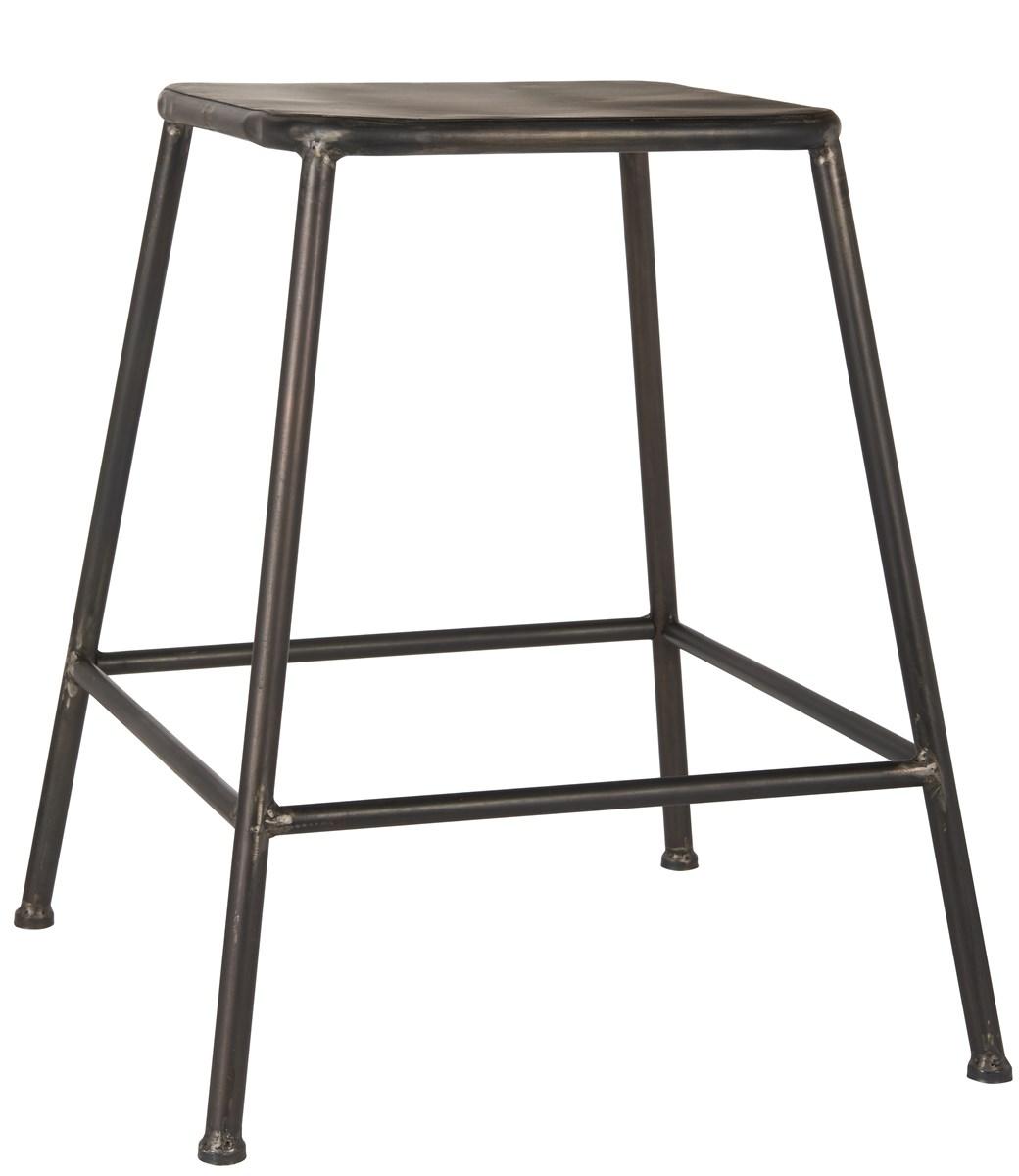 Billede af IB LAURSEN Skammel metalsæde sæde: 29x29 cm