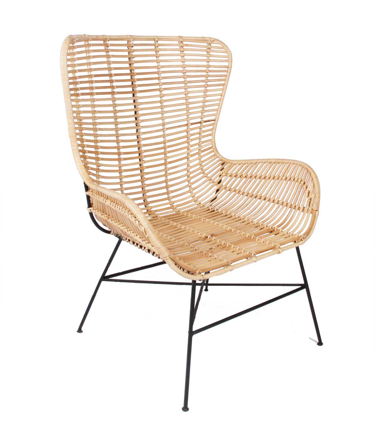 Billede af Opus stol, natur rattan