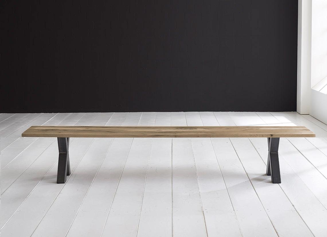 Concept 4 You Spisebordsbænk - Freja ben 220 x 40 cm 3 cm 04 = desert