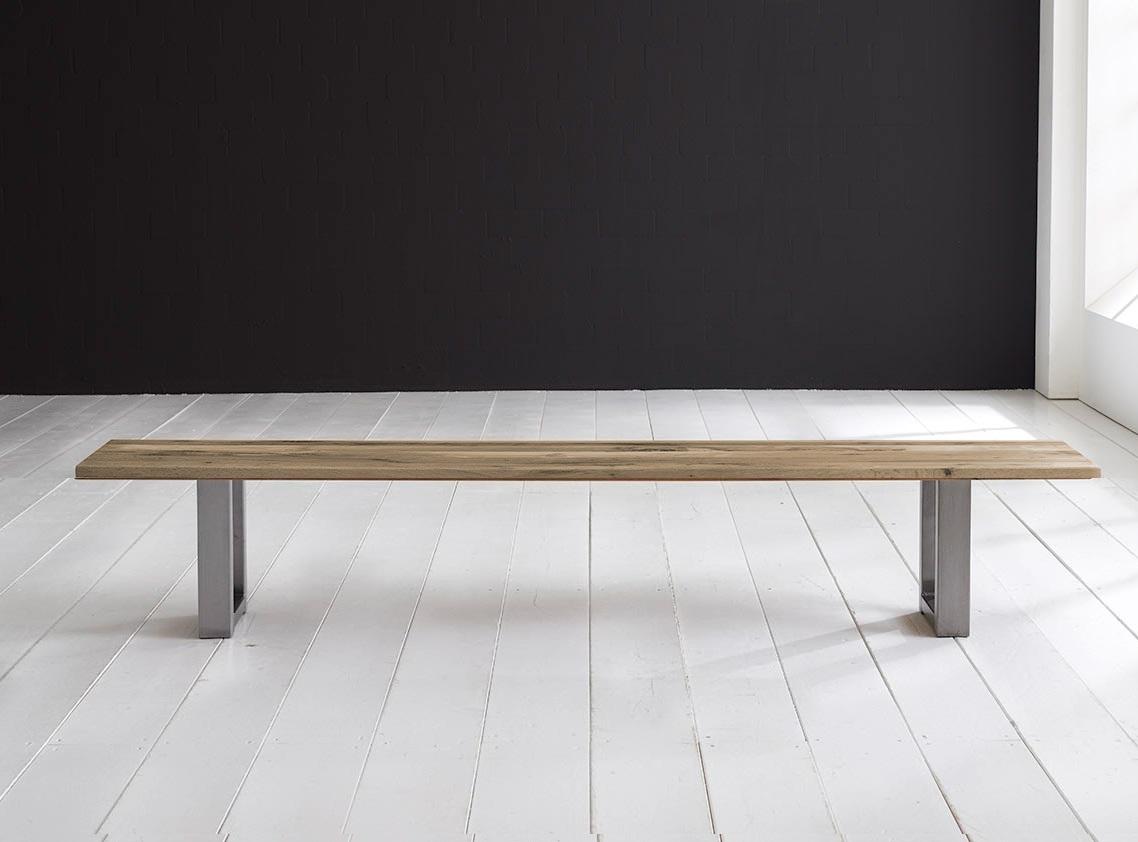 bodahl Concept 4 you spisebordsbænk - manhattan ben 180 x 40 cm 3 cm 04 = desert fra boboonline.dk