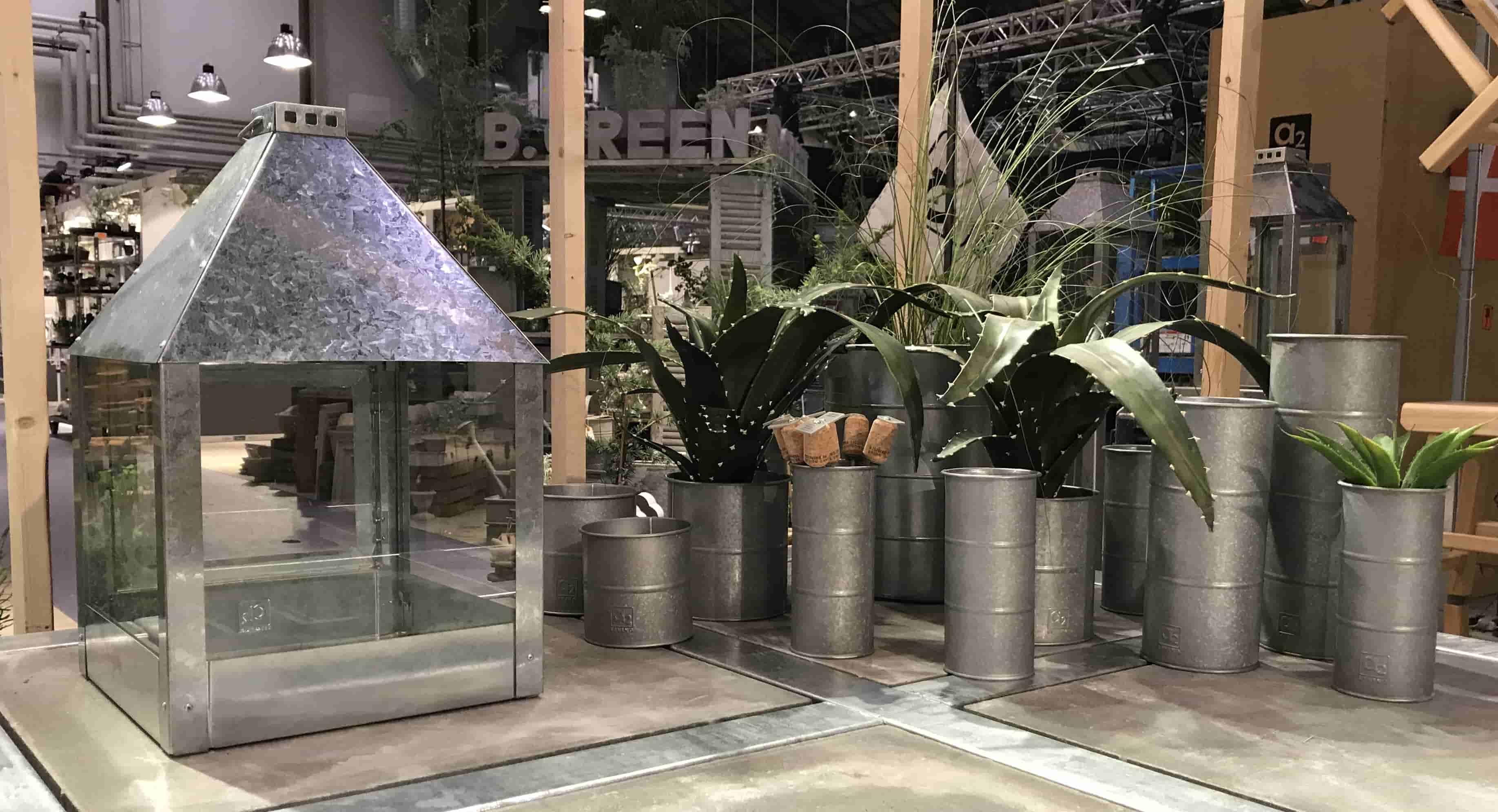 Image of   A2 LIVING Mega Quadro lanterne - rustfri stål, (32x52)