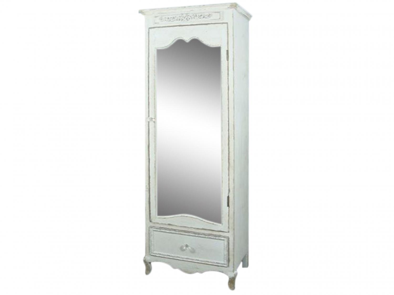 Image of   Chic Antique Skab med spejl