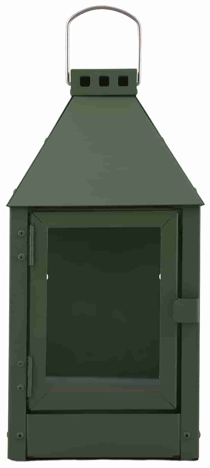 Image of   A2 LIVING Wall Mini lanterne - olivengrøn, galvaniserede (17x36,5)