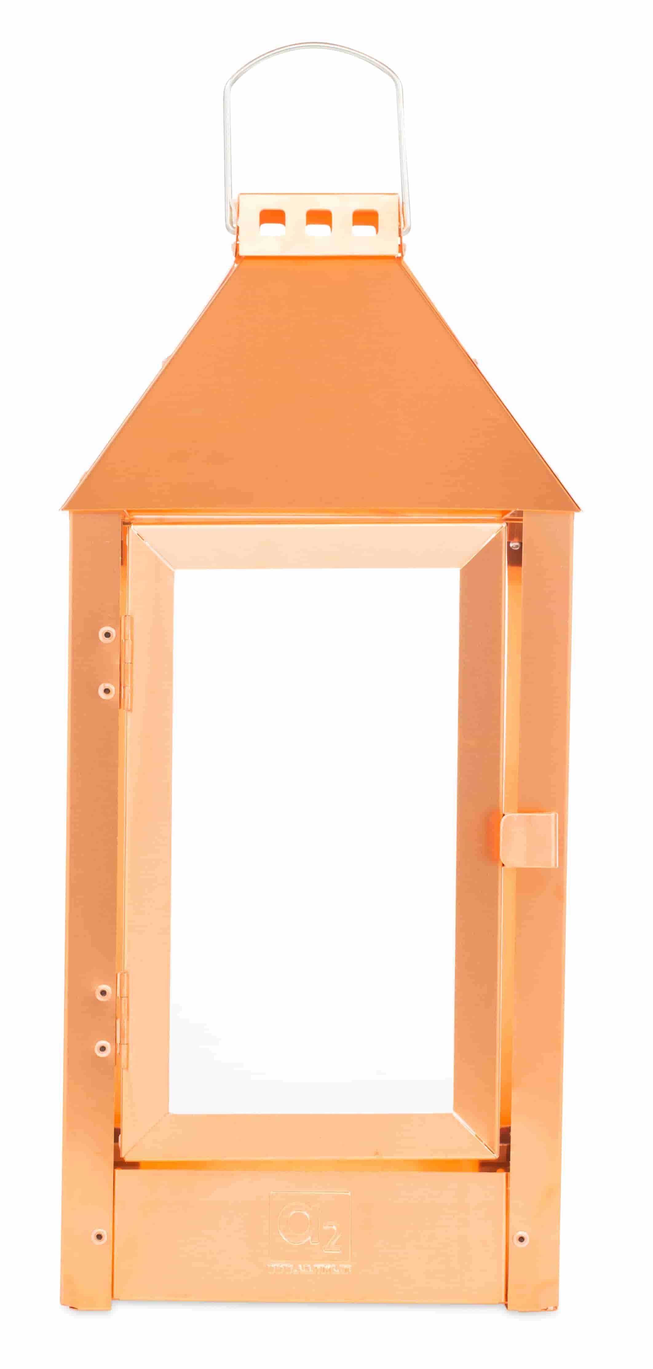 A2 living midi lanterne - kobber (19x42,5) fra a2 living fra boboonline.dk