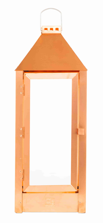 Image of   A2 LIVING Maxi lanterne - kobber (22,5x60)