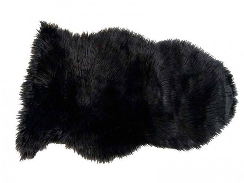 Billede af deko skind, sort